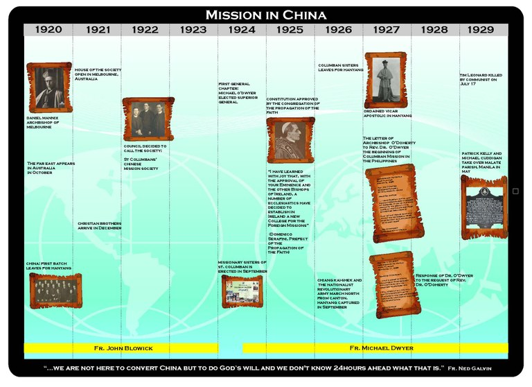 Mission in China