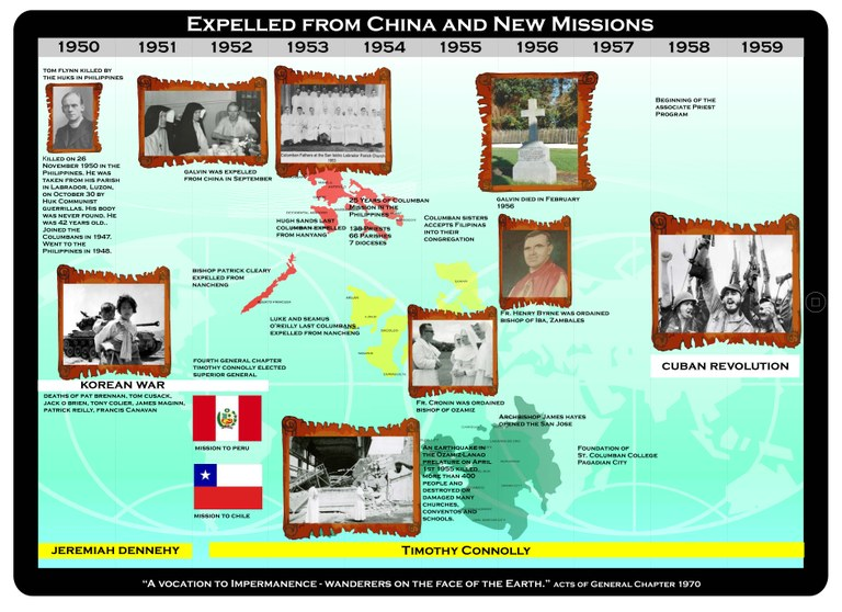 Expelled From China And New Missions